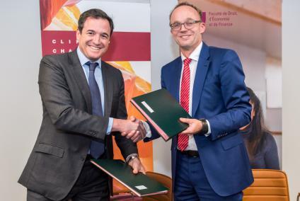 Luxemburg Event Fotograf | Unterzeichnung einer Vereinbarung